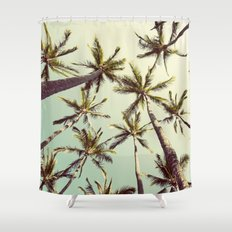 Palm Trees Sway  Shower Curtain