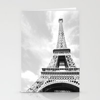 eiffel Stationery Cards featuring Eiffel by Fallon Chase