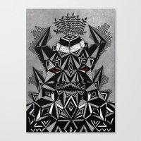 G R U Z Z  Canvas Print