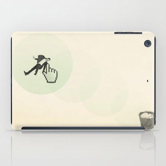trash man iPad Case