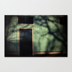 Scary World Theory Canvas Print