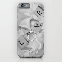 iPhone & iPod Case featuring Flower Love by catdossett