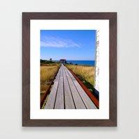 Tramway  Framed Art Print