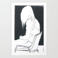 attending Art Print