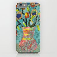Junk Mail Flowers iPhone 6 Slim Case