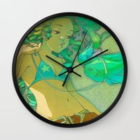 Pet Fish Wall Clock