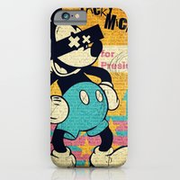 iPhone Cases featuring Tricky Mickey by Alec Goss