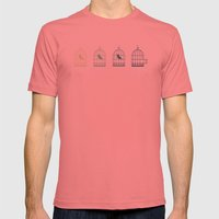 Fly Mens Fitted Tee Pomegranate SMALL