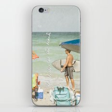 It's better at the beach iPhone & iPod Skin