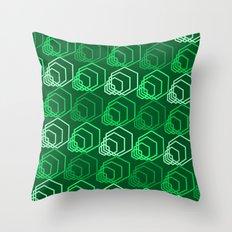 Op Art 116 Throw Pillow