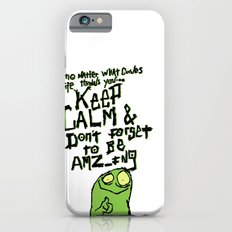 Keep Calm and stay Amazing iPhone 6 Slim Case