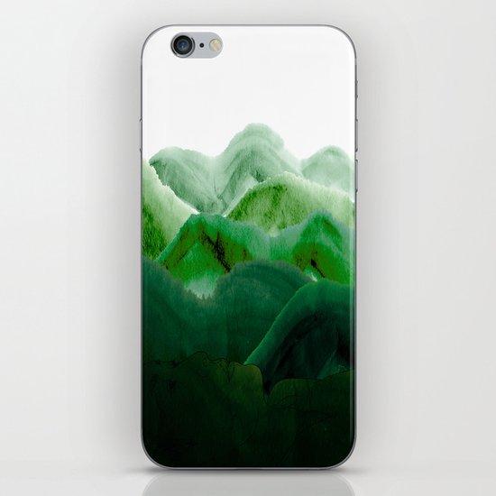 山秀谷 iPhone & iPod Skin