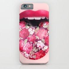 FLORAL KISS Slim Case iPhone 6s