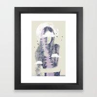 Moon Shine Framed Art Print
