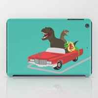 Jurassic Parking Only iPad Case