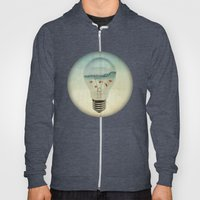 Blue Sea Thinking Hoody