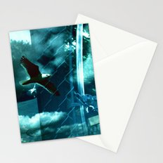 No Flying  Stationery Cards