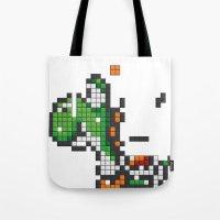 Yoshi Tetris Tote Bag