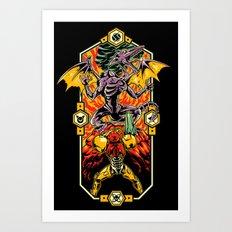Epic Super Metroid Art Print