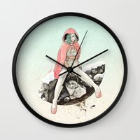 Waiting for the Wolf Wall Clock