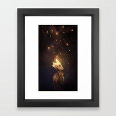 Groot: Spores Framed Art Print