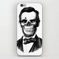 Lincoln Skull iPhone & iPod Skin