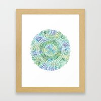 Intricate Nature  Framed Art Print