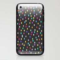 A Universe Of Colorful D… iPhone & iPod Skin