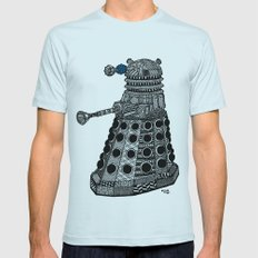 Dalek Mens Fitted Tee Light Blue SMALL