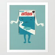 Atlas Shrugged Art Print