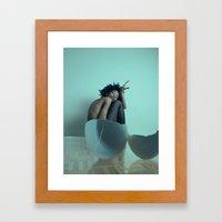 Break Out My Shell Framed Art Print