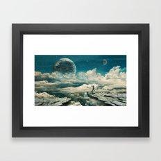 The explorer Framed Art Print