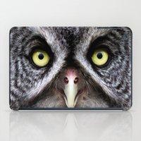 Great Gray Owl iPad Case