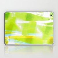 In Between Yellow, Green and Blue - JUSTART © Laptop & iPad Skin
