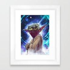 Master Yoda Framed Art Print