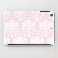 giving hearts giving hope: pink damask iPad Case