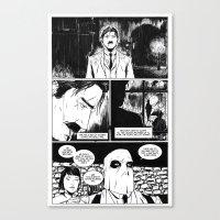 CARVER: A Paris Story- Issue 1 Canvas Print