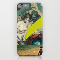 iPhone & iPod Case featuring Modern Vintage Collection  -- Mountain High by Elo Marc