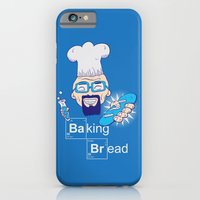 iPhone & iPod Case featuring Baking Bread by DarkChoocoolat