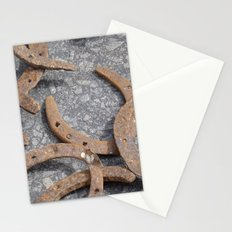 Rusty luck Stationery Cards