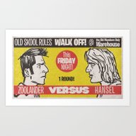 Zoolander VS Hansel Walk… Art Print