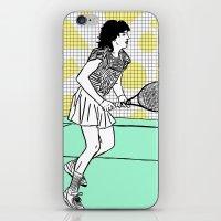 Gabi Sabatini iPhone & iPod Skin