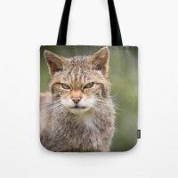 Scottish Wildcat Tote Bag