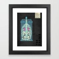 Spaceship Skeletal Surve… Framed Art Print