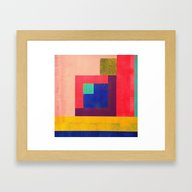 Geometrics#4 Framed Art Print
