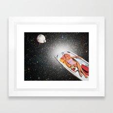 Cosmic Float Framed Art Print