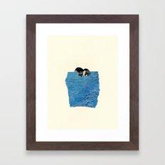 Body of Water Framed Art Print
