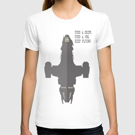 Find a Crew, Find a Job, Keep Flying T-shirt
