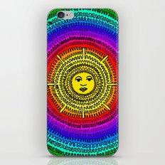 Rainbow Sun iPhone & iPod Skin
