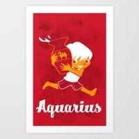 Aquarius: the Water Carrier Art Print